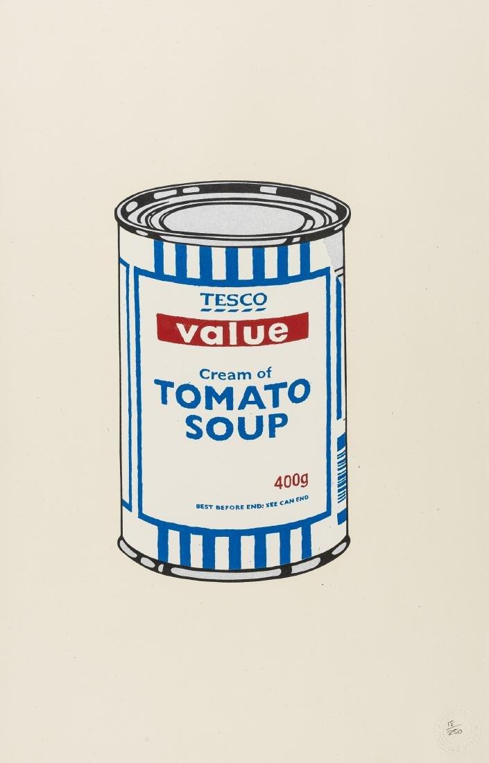 δ Banksy (b.1974)  Soup Can (Original)