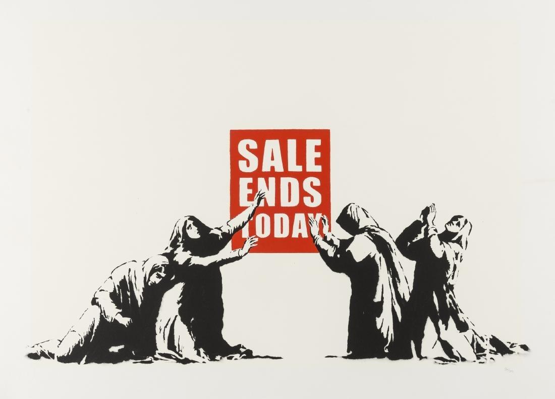 δ Banksy (b.1974)  Sale Ends
