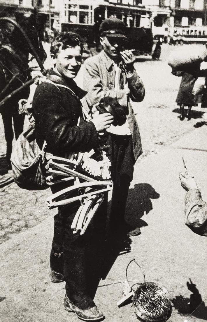 Alexander Rodchenko (1891-1956) Ulichnaya torgovlya