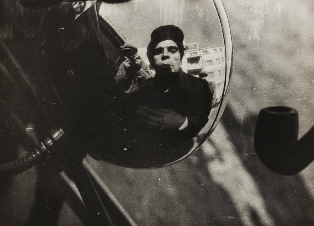 Alexander Rodchenko (1891-1956) Portrait of a Driver,