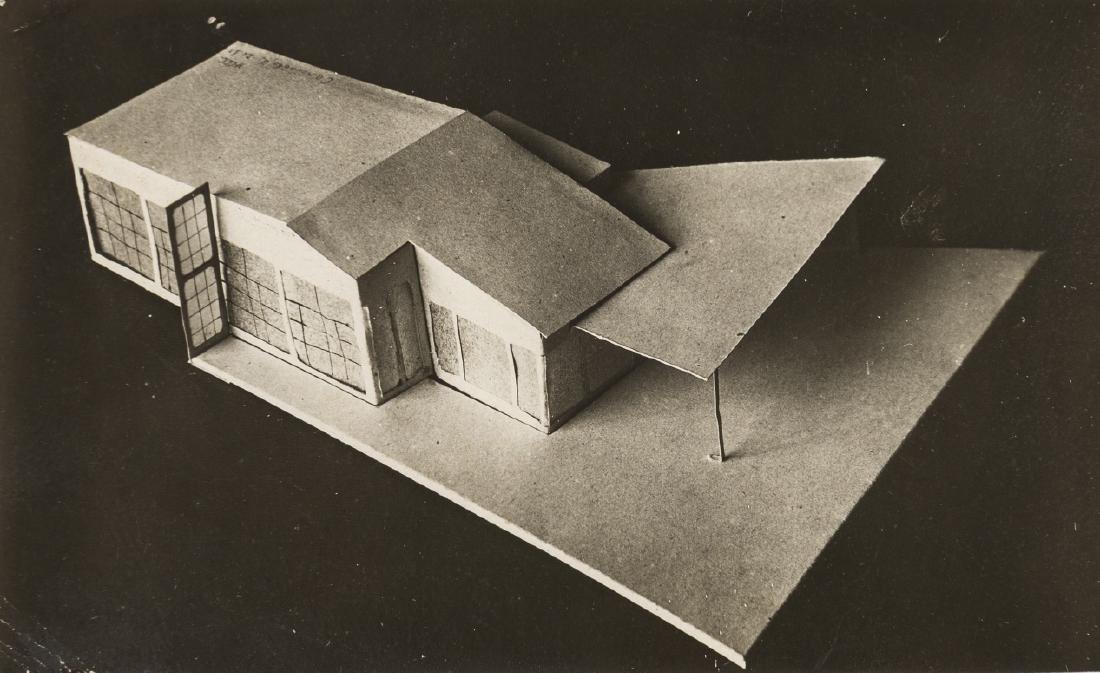 VKhUTEMAS Workshops (1920-1930) Architectural designs