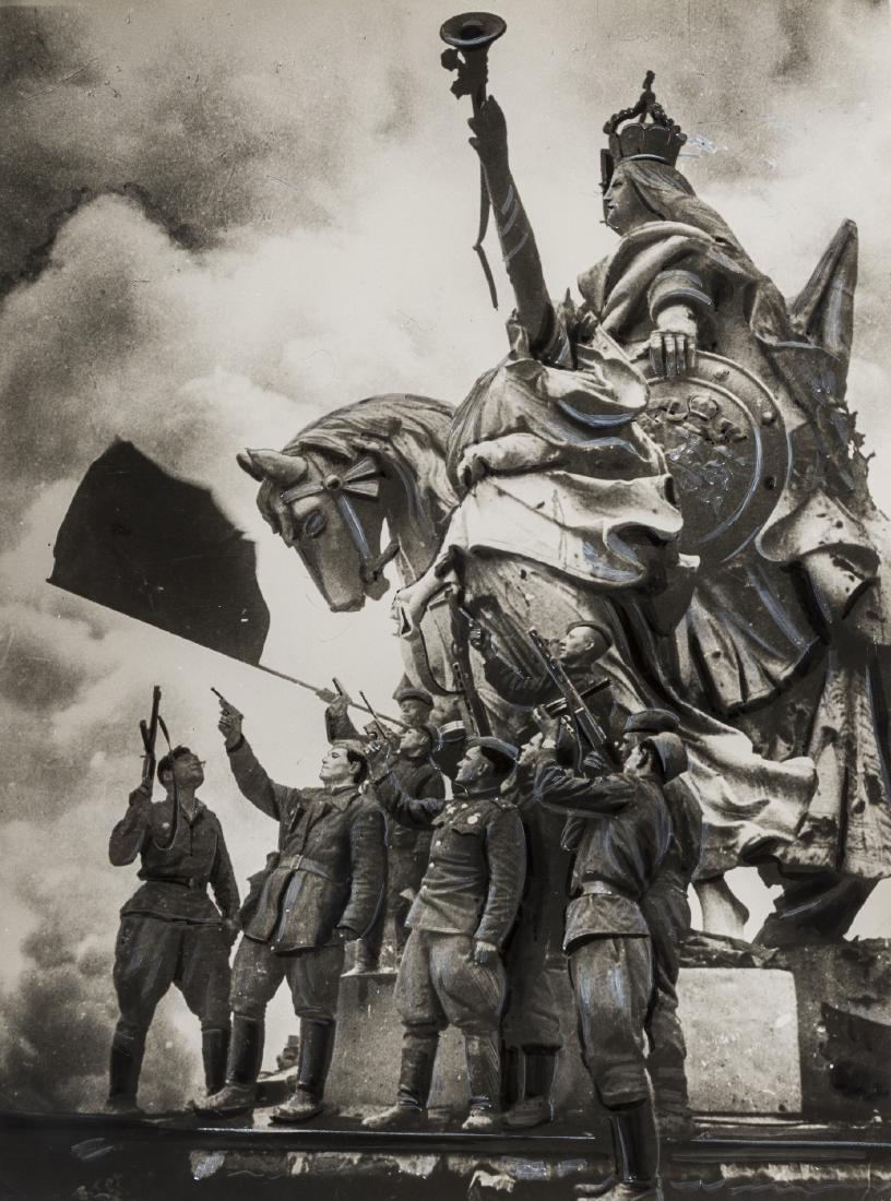 Yakov Riumkin (1913-1986) Berlin, May 1945;