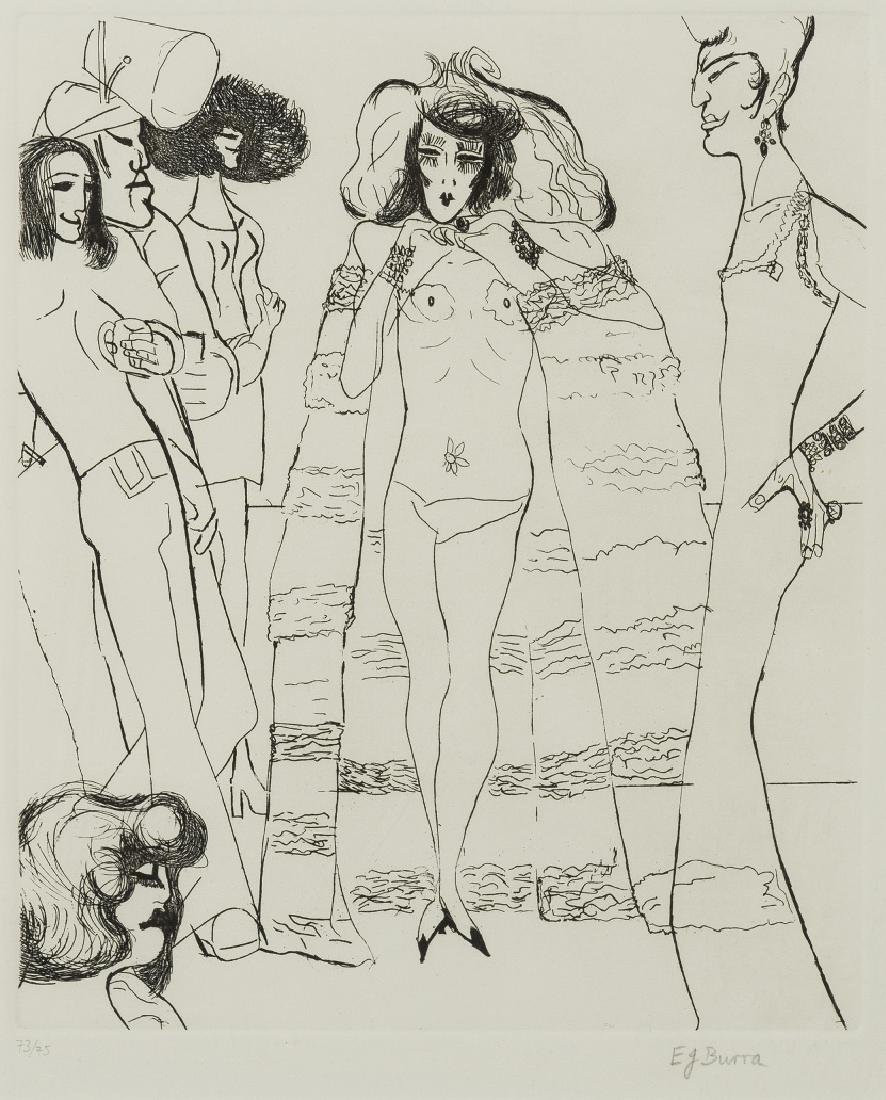 δ Edward Burra 1905-1976  Drag Queen