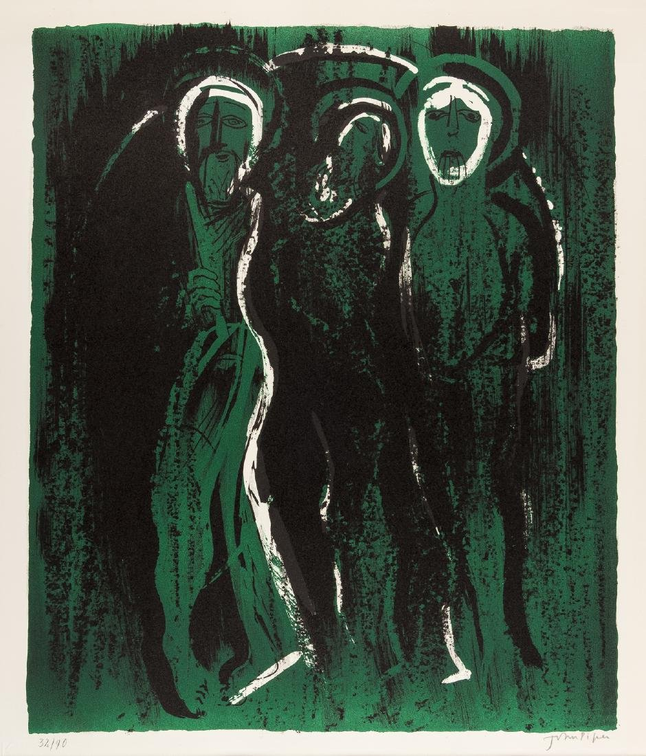δ John Piper (1903-1992)  The Visitation (Levinson