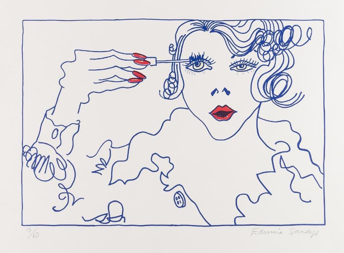 δ Edwina Sandys (b.1938)  Mascara, Nail Varnish;