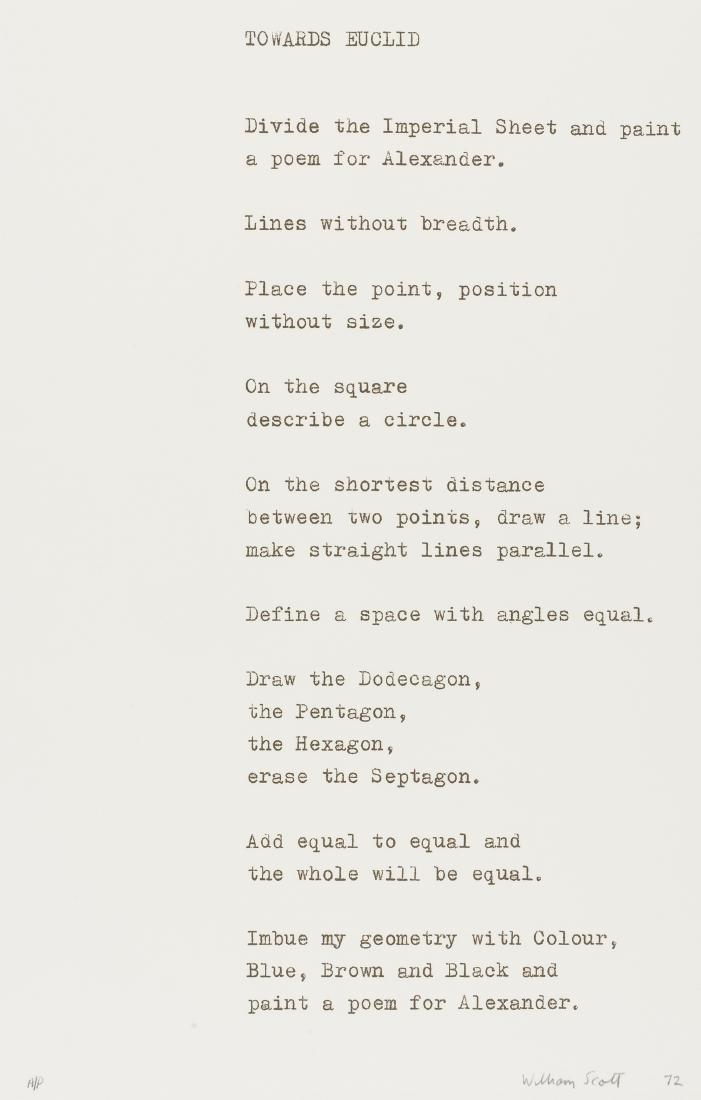 δ William Scott (British, 1913-1989)  Towards
