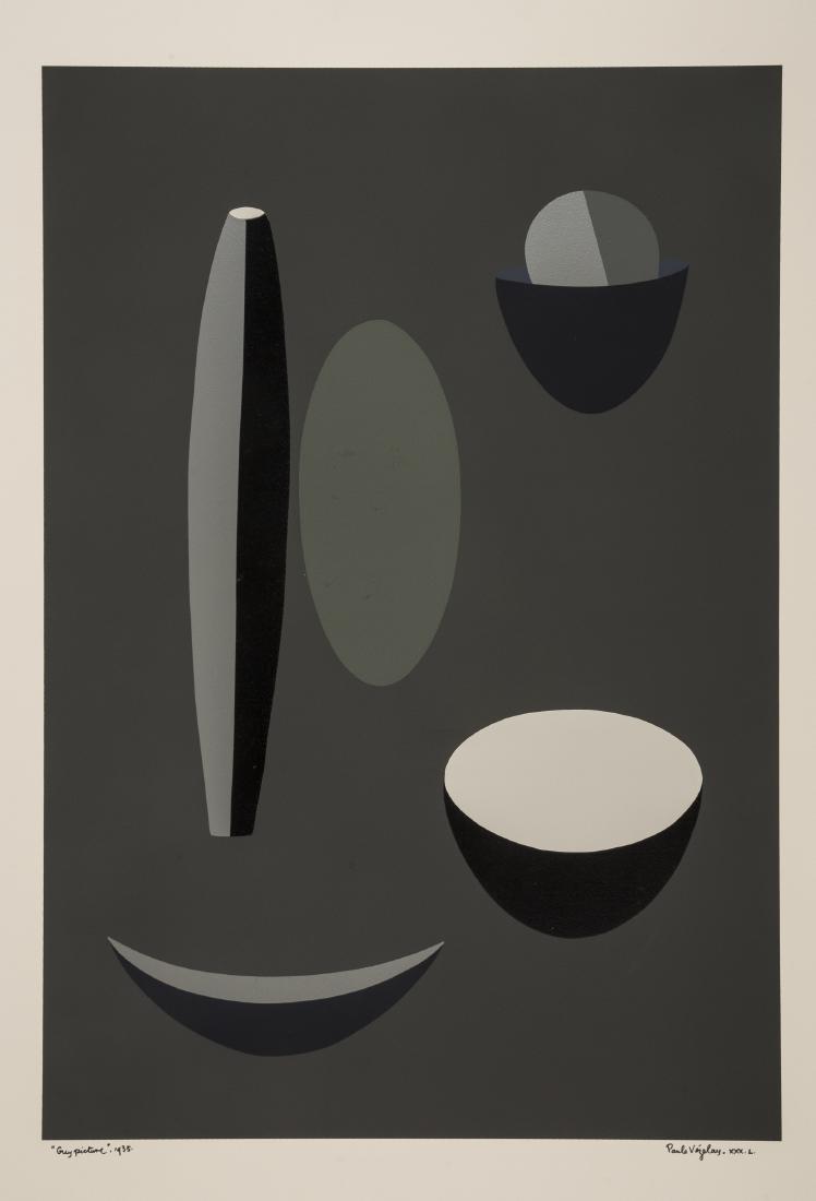 Paule Vézelay (1893-1984)  Grey Picture
