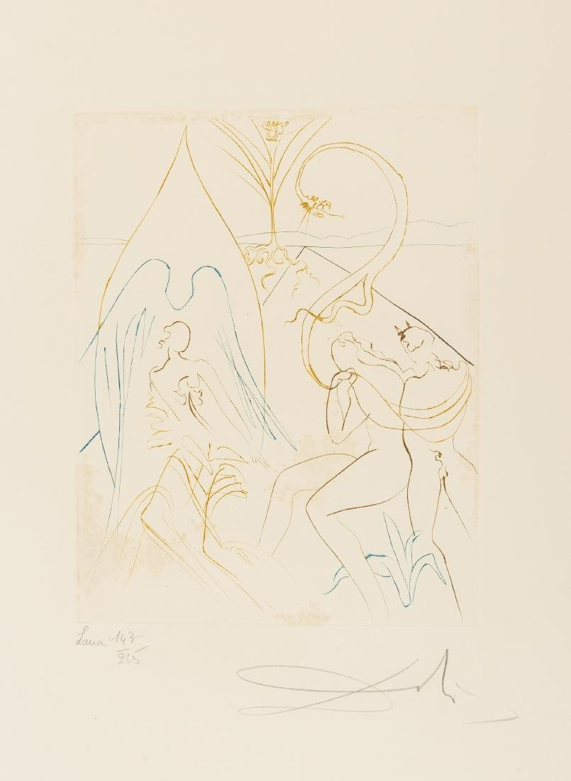 δ Salvador Dali (1904-1989)  L'Arbre de Vie (from