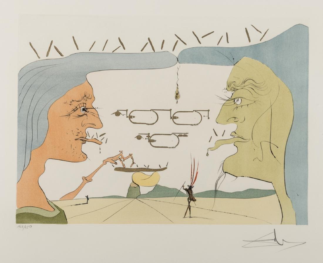δ Salvador Dali (1904-1989)  Le Telegraphe (M & L