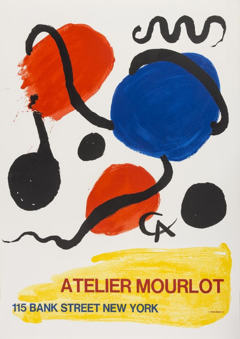 Joan Miro (1893-1983) (after) & Alexander Calder