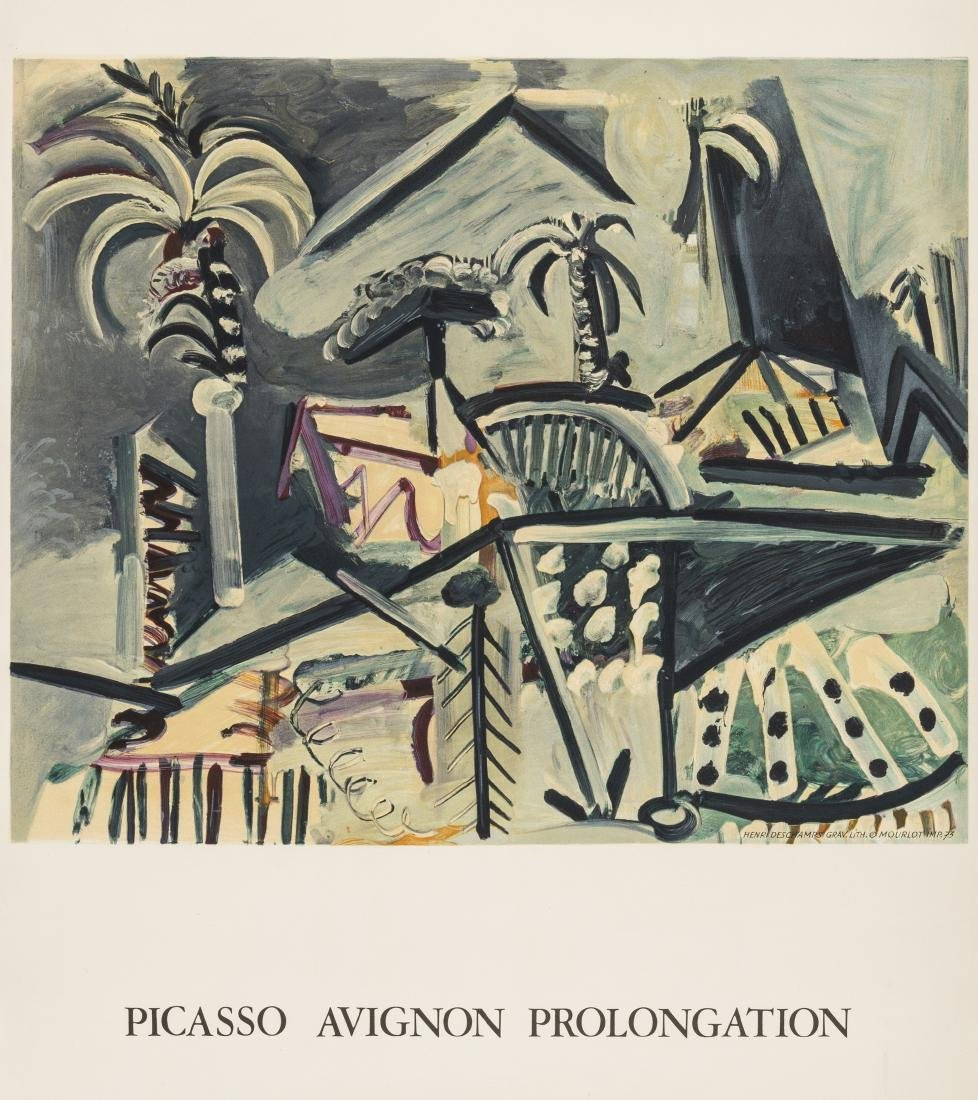 δ Pablo Picasso (1881-1973) (after)  Avignon