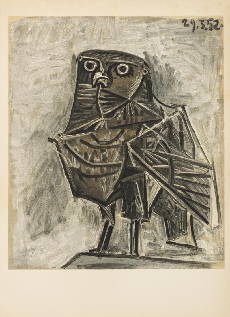 δ Pablo Picasso (1881-1973)   La Chouette
