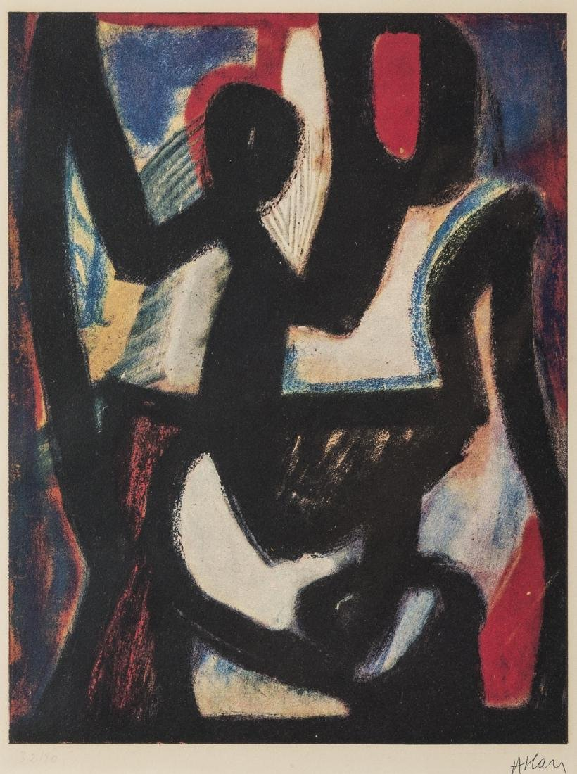 δ Jean-Michel Atlan (1913-1960)  Composition