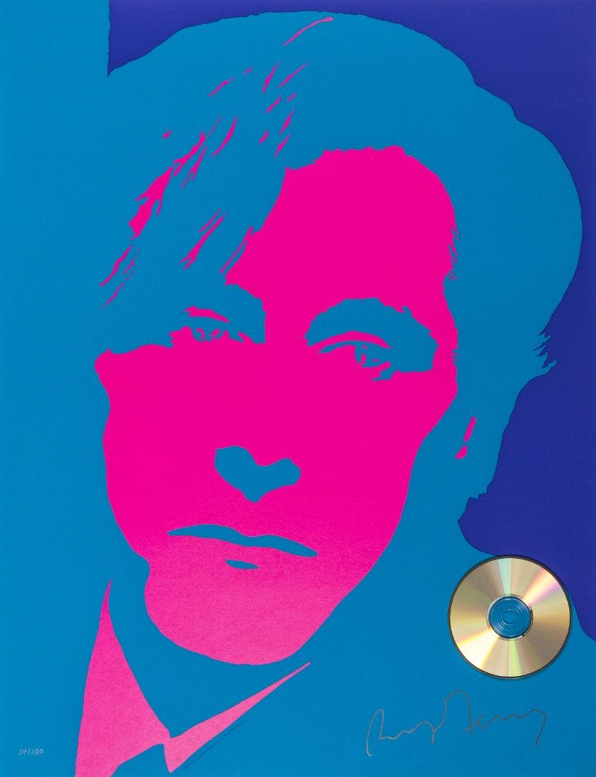 δ Bryan Ferry (b.1945)  Self Portrait