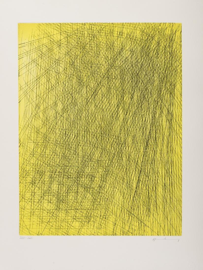 δ Hans Hartung (1904-1989)  Untitled (from Eddy