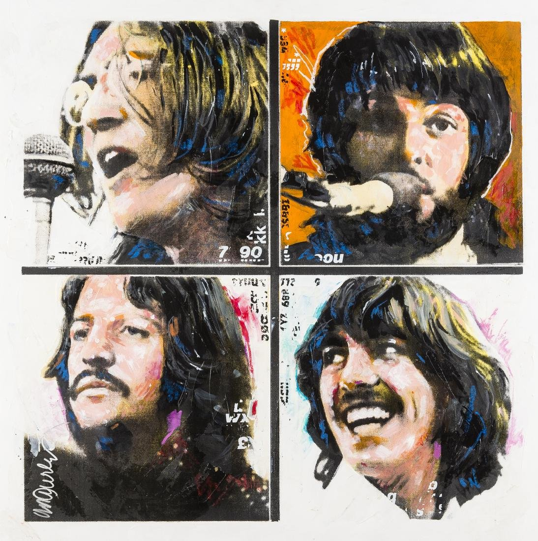 Sid Maurer (b.1926)  The Beatles; The Rolling Stones;