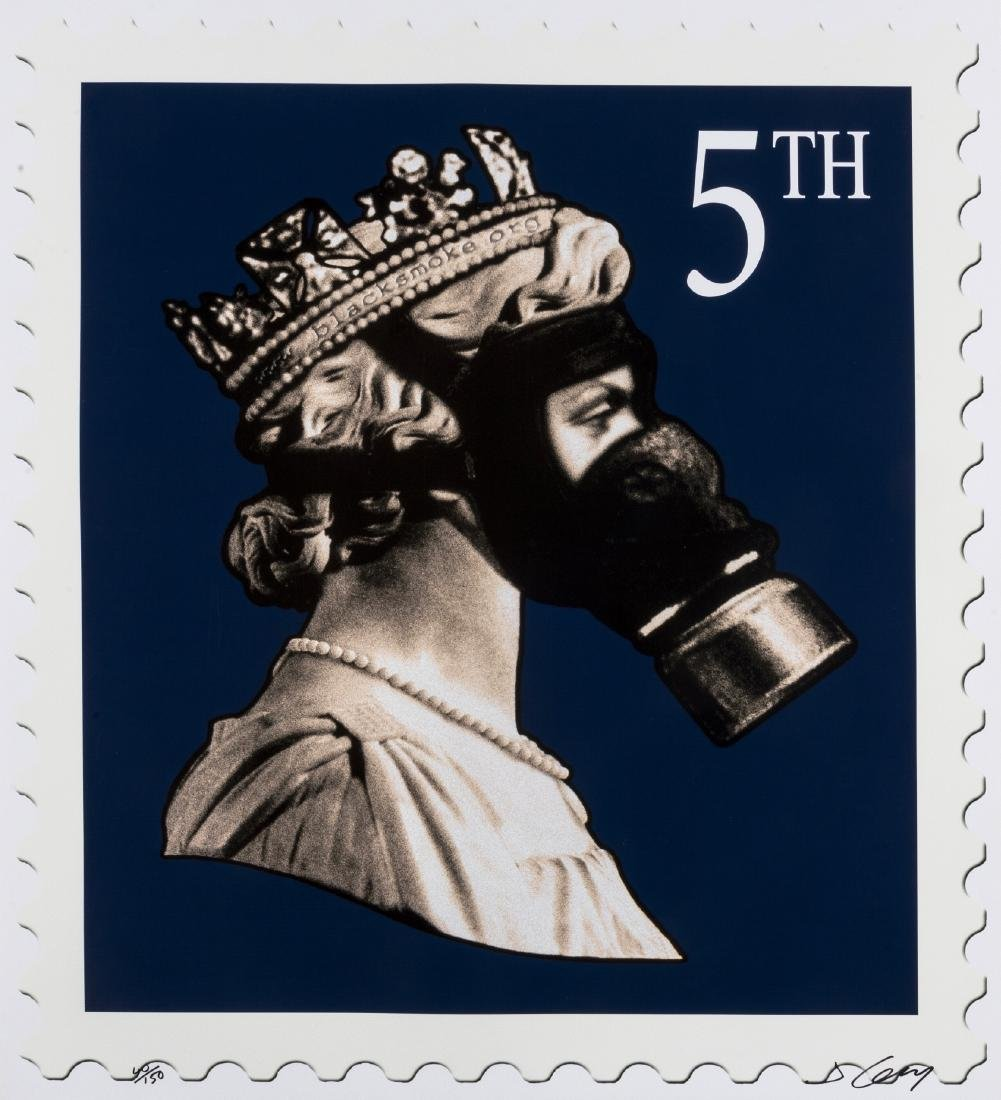δ James 'Jimmy' Cauty (b.1956)  Stamps of Mass