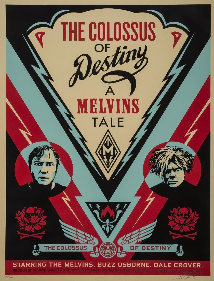 Shepard Fairey (b.1970)  Melvins Colossus