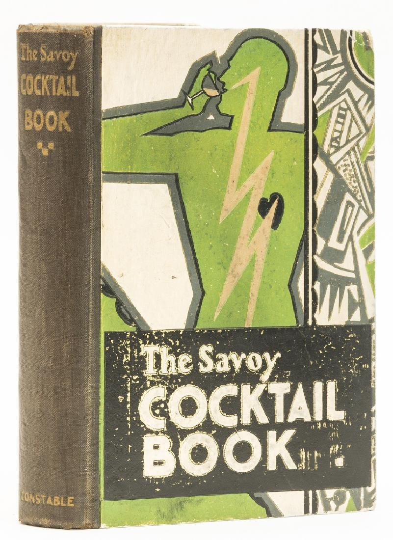 Craddock (Harry) The Savoy Cocktail Book, first