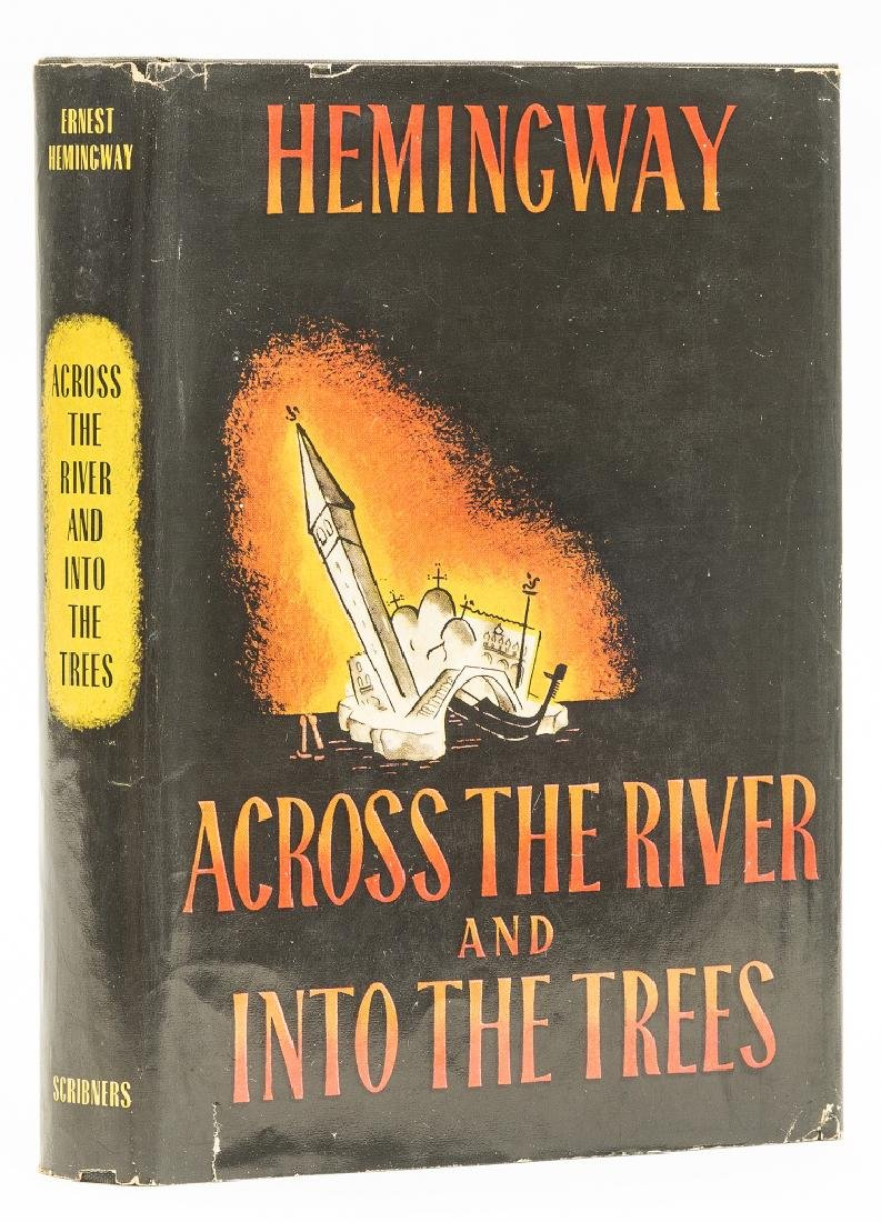 Hemingway  (Ernest) Across the River Into the Trees,