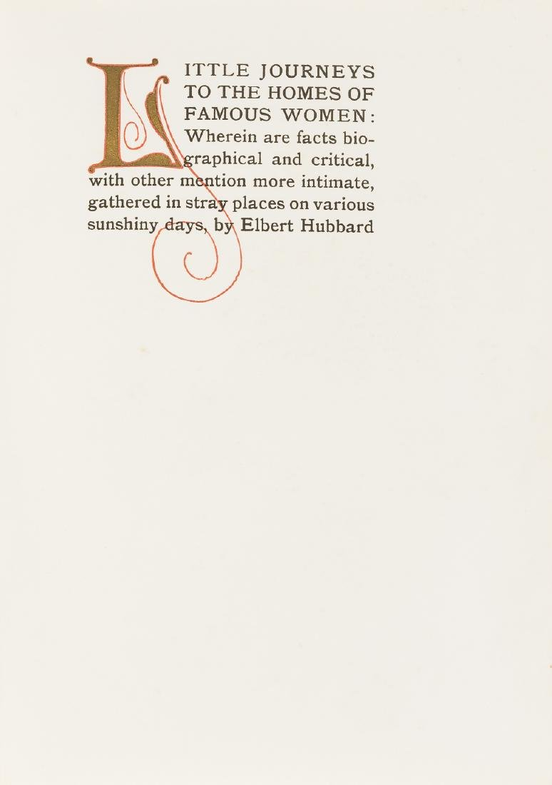 Roycroft.- Hubbard (Elbert) Little Journeys to the