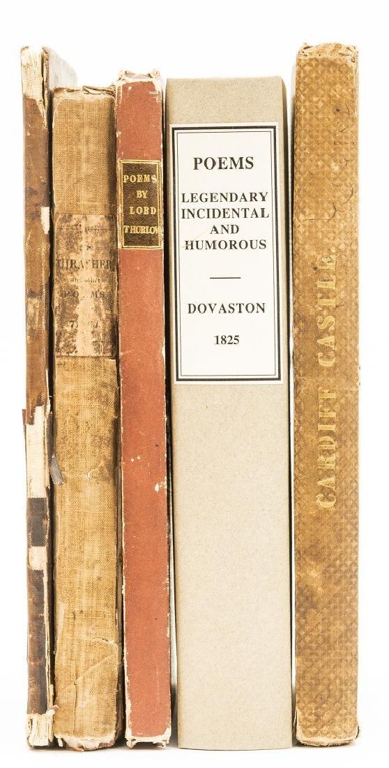 Provincial imprints.- [Kaye (Sir John William)] Poems