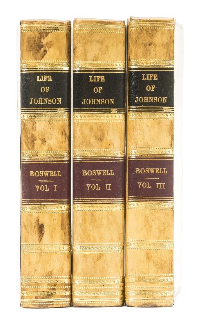 Boswell (James) The Life of Samuel Johnson, 3 vol.,