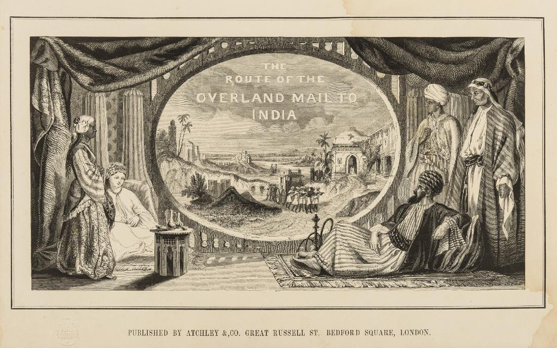 India.- Tillotson (John) The Overland Route to India,