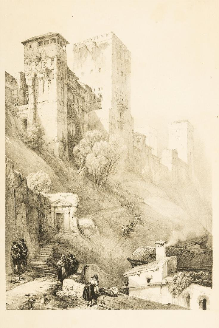 Spain.- Roberts (David) Picturesque Sketches in Spain
