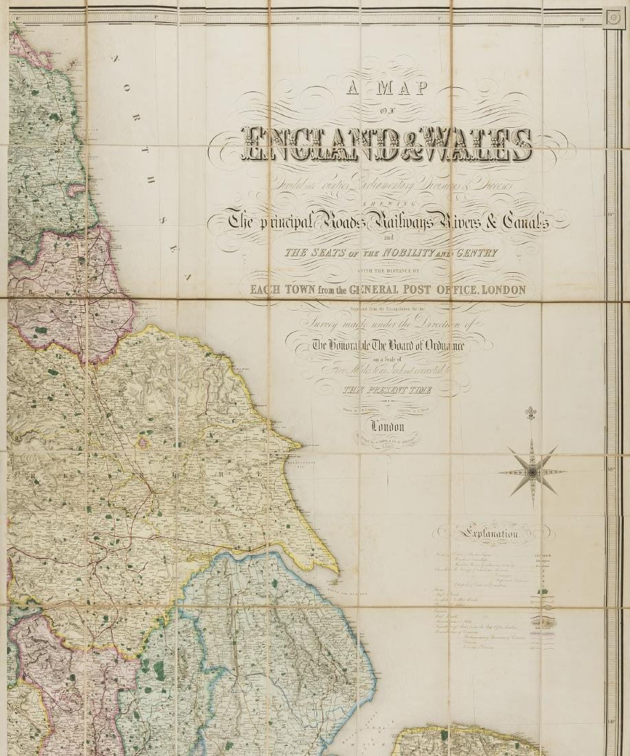 British Isles.- Lewis (Samuel) A Map of England and