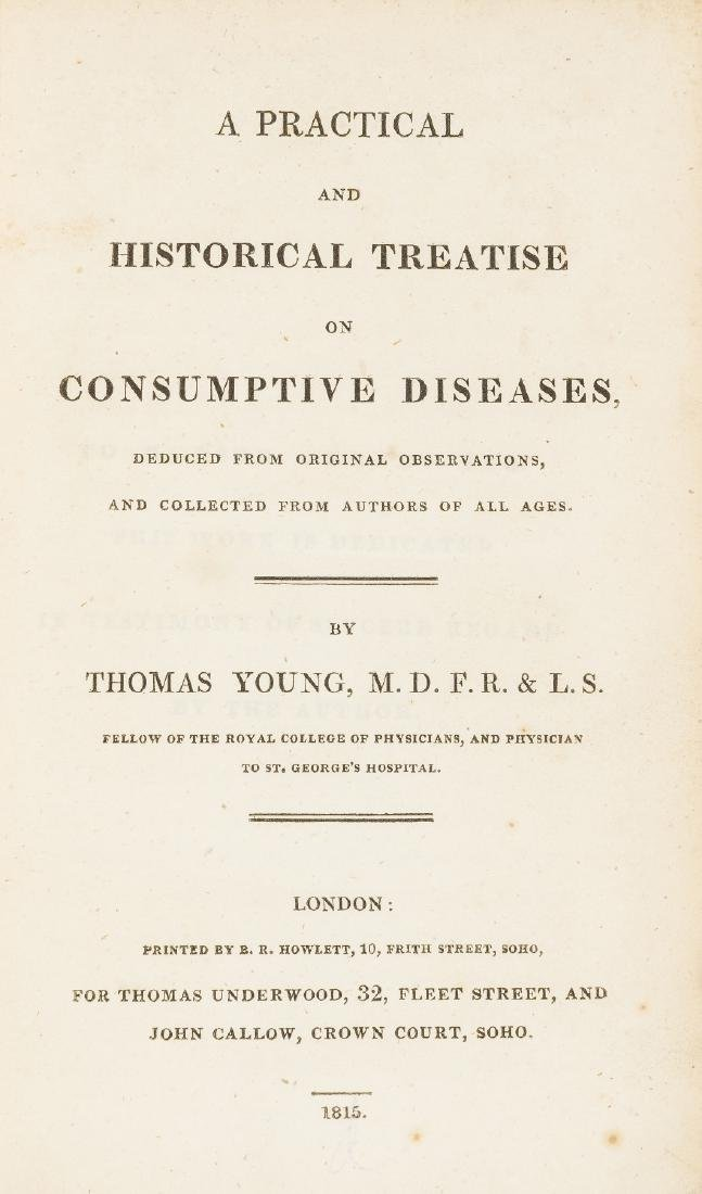Young (Thomas) A Practical and Historical Treatise on