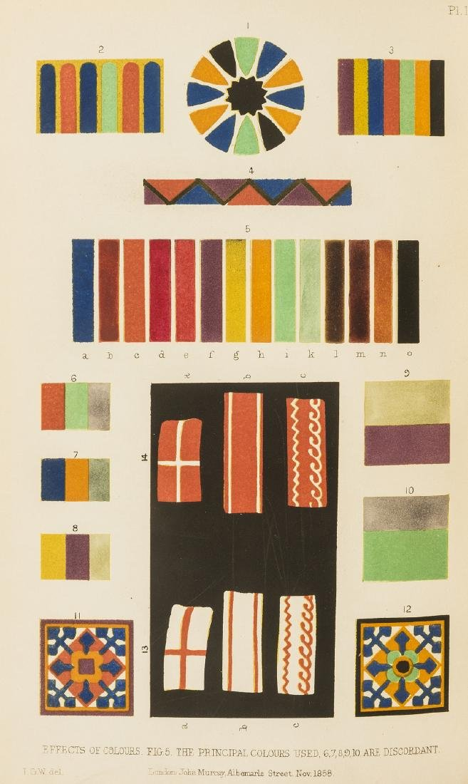 Wilkinson (Sir John Gardner) On Colour and on the