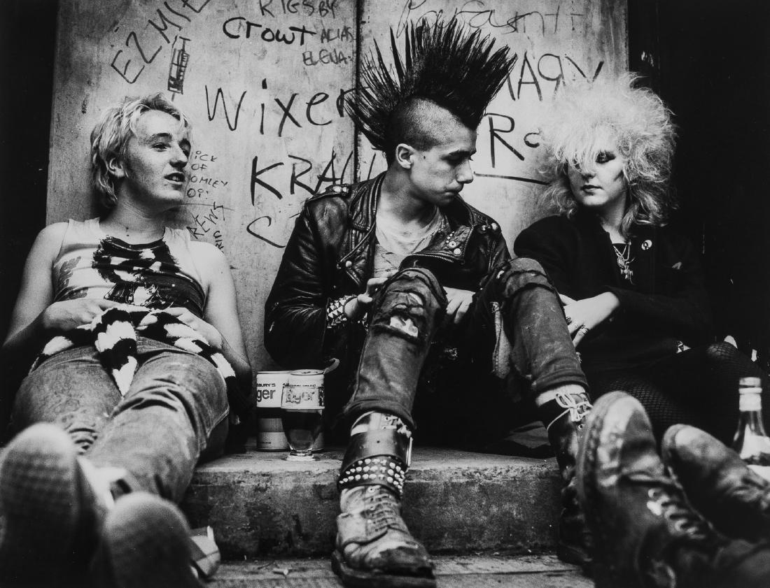 δ Don McCullin (b.1935) Untitled, (Punk), 1980s