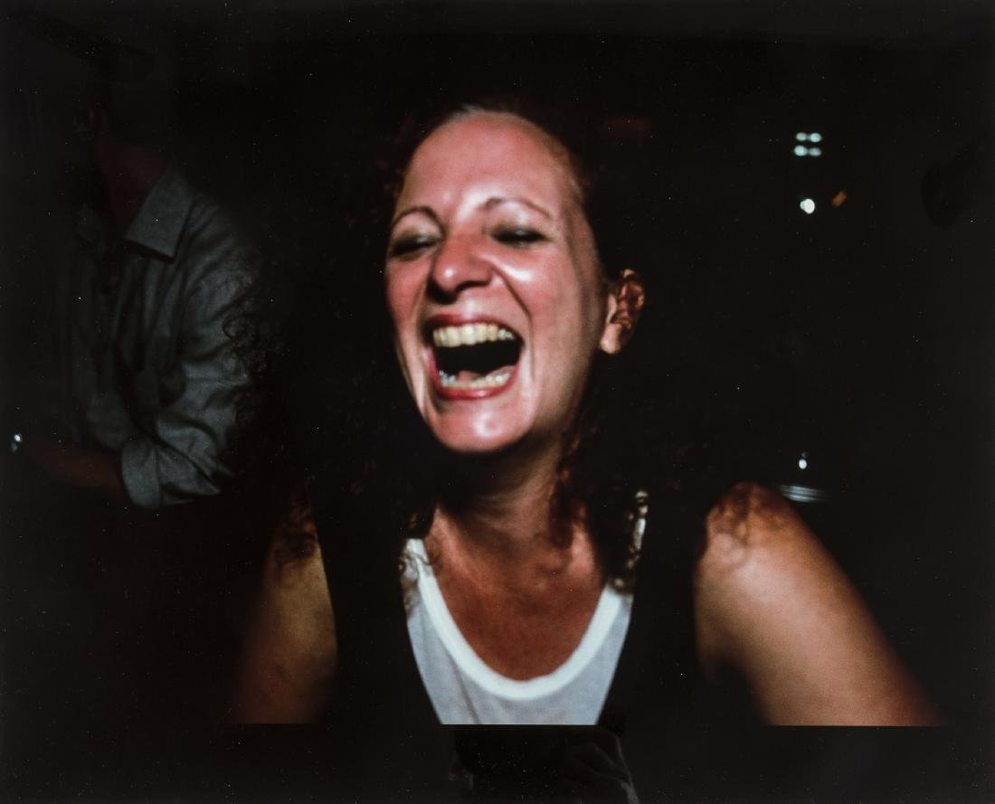 Nan Goldin (b.1953) Self Portrait Laughing, Paris, 1999