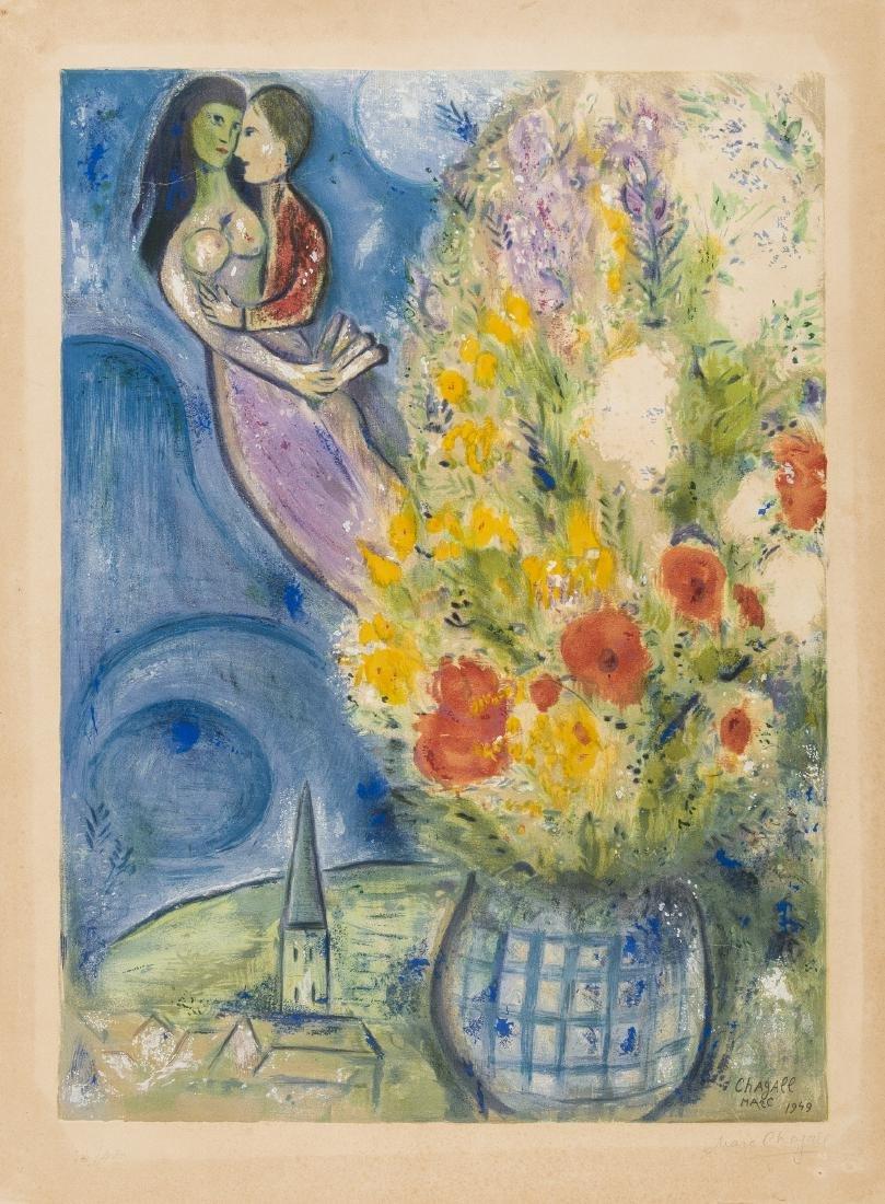 δ Marc Chagall (1887-1985) (after)  Les