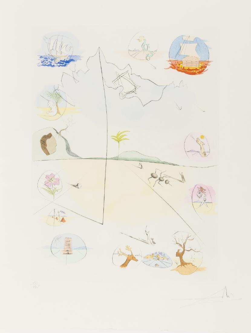 δ Salvador Dali (1904-1989)  The Twelve Tribes of - 5