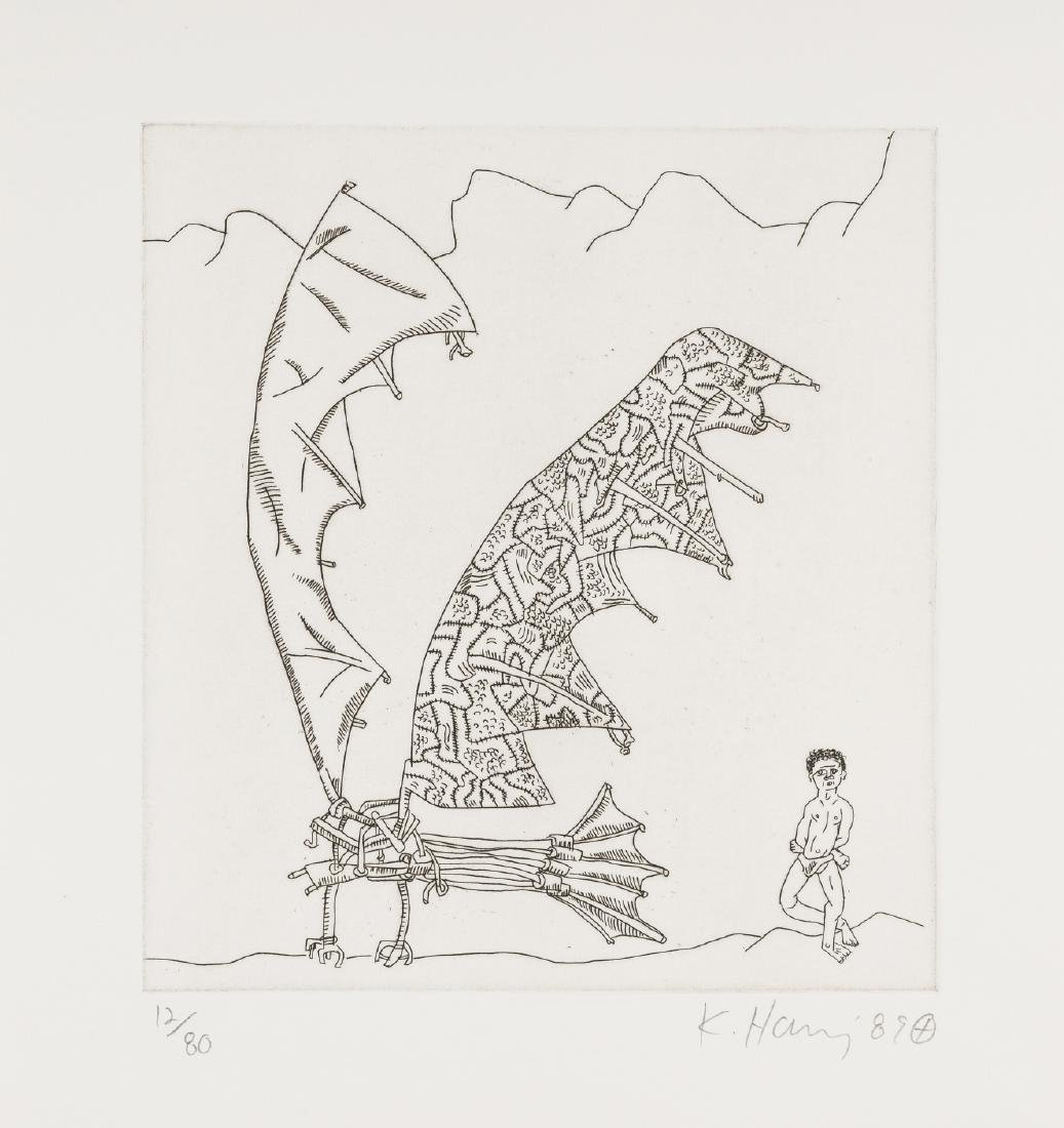 Keith Haring (1958-1990)  From the Valley Suite (see