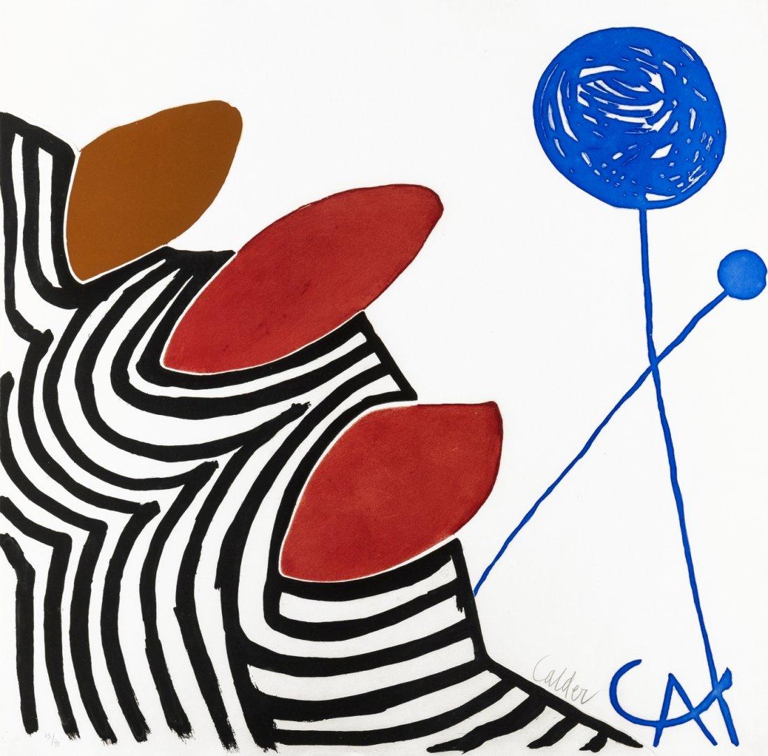 Alexander Calder (1898-1976)  Presenza Grafica