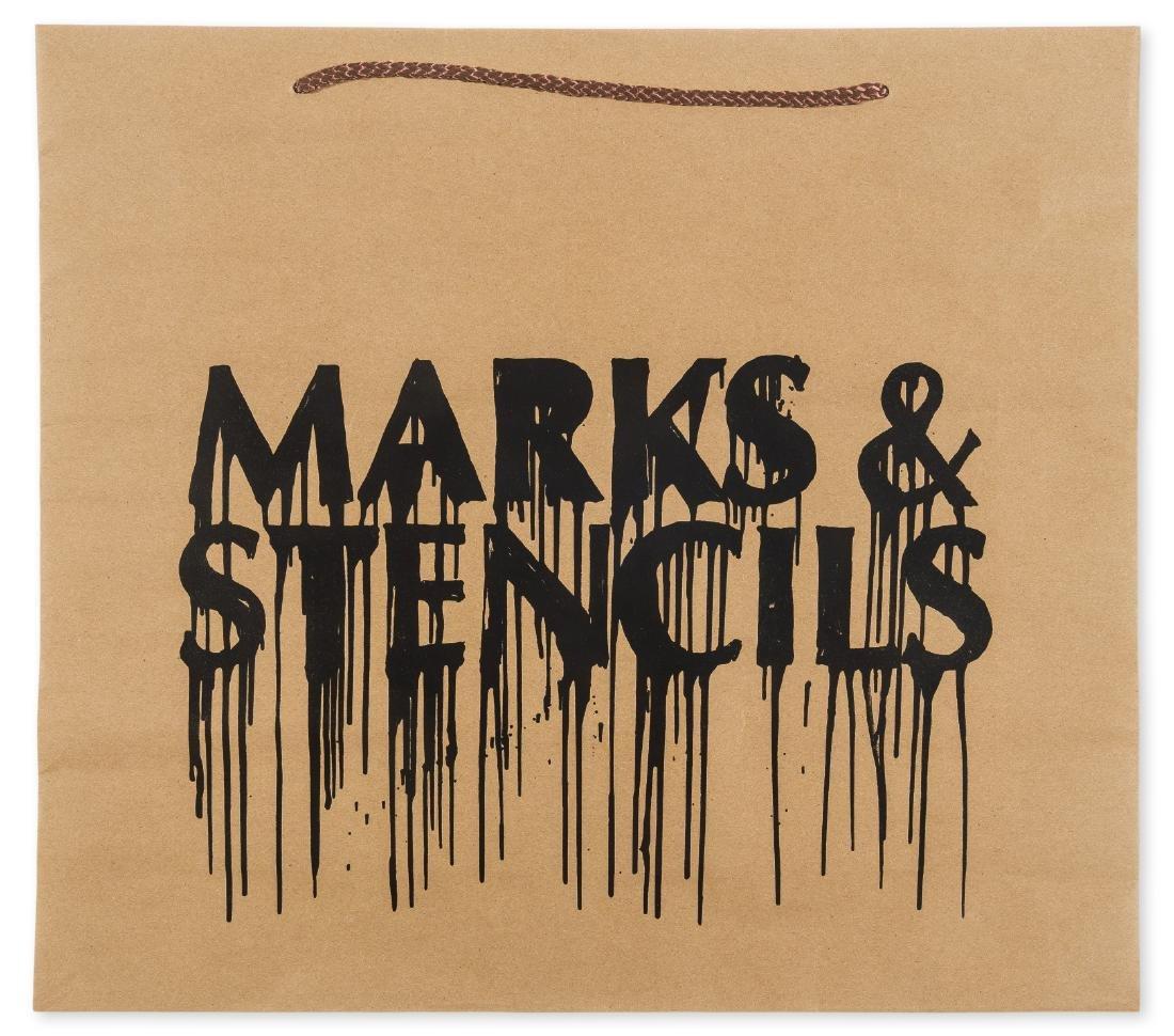 δ Banksy (b.1974) (after)  Marks and Stencils