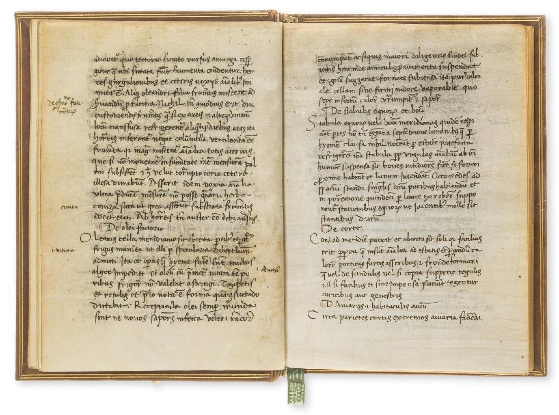 Palladius (Rutilius Taurus) Opus agriculturae, - 2