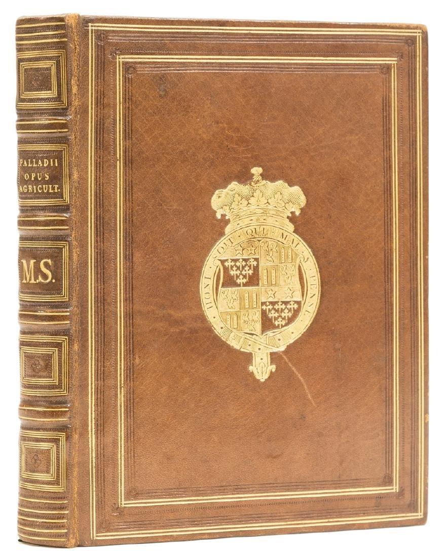 Palladius (Rutilius Taurus) Opus agriculturae, - 3