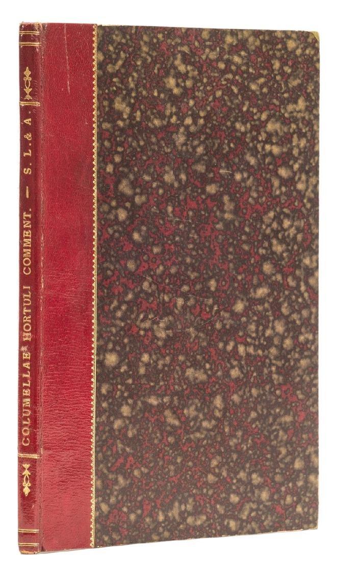 Columella (Lucius Junius Moderatus) Hortuli - 2
