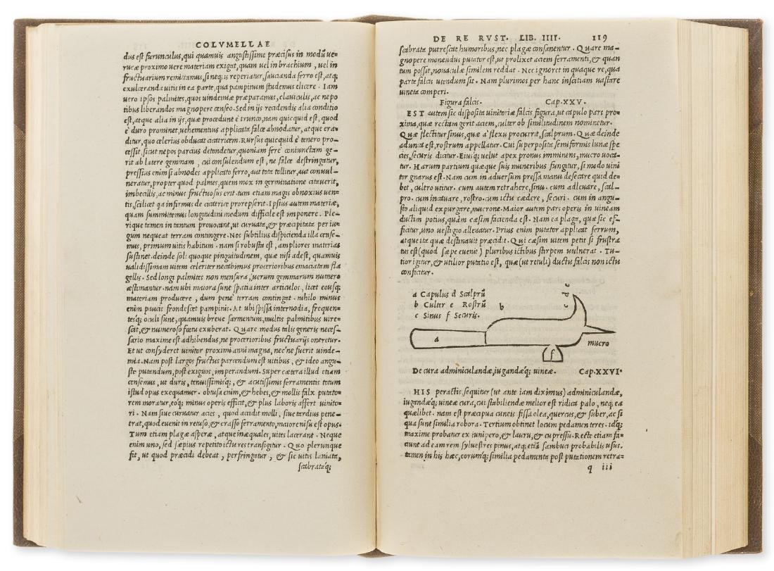Cato (Marcus Porcius) Libri de re rustica, first Aldine