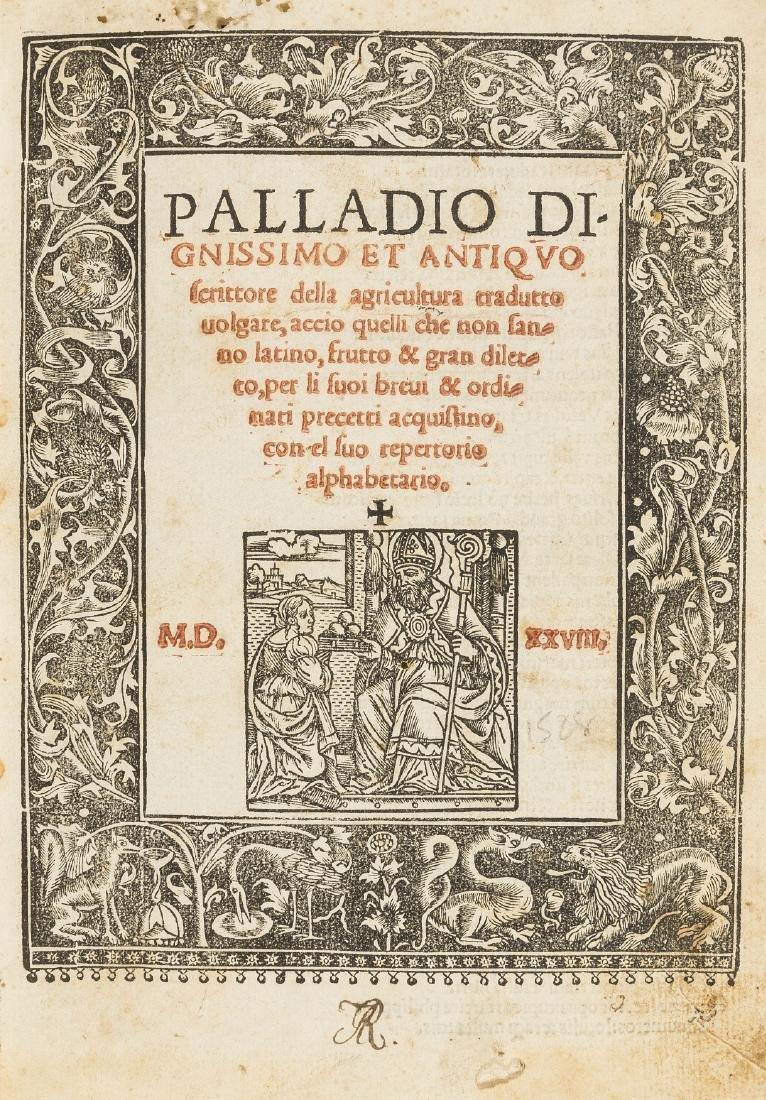 Palladius (Rutilius Taurus) Palladio dignissimo et