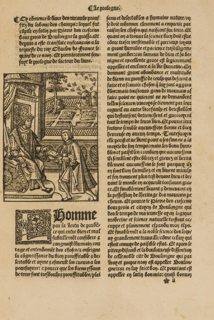 Schwerdt copy.- Crescentiis (Petrus de) Le bon - 2