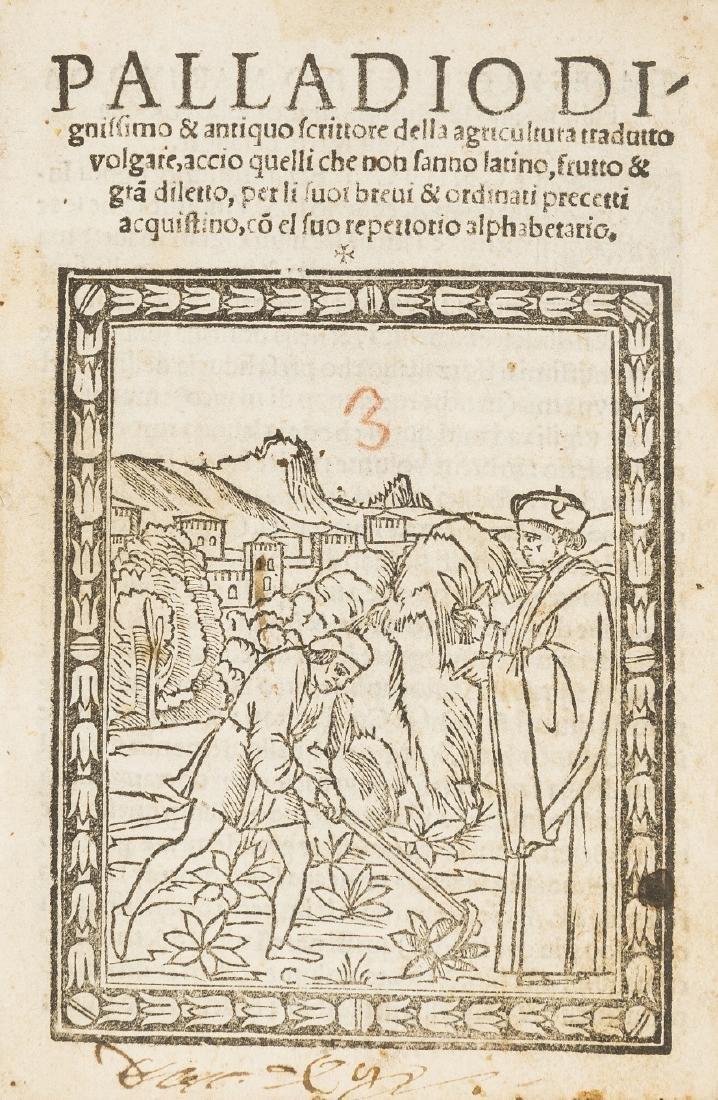 Palladius (Rutilius Taurus)  Della agricoltura tradutto