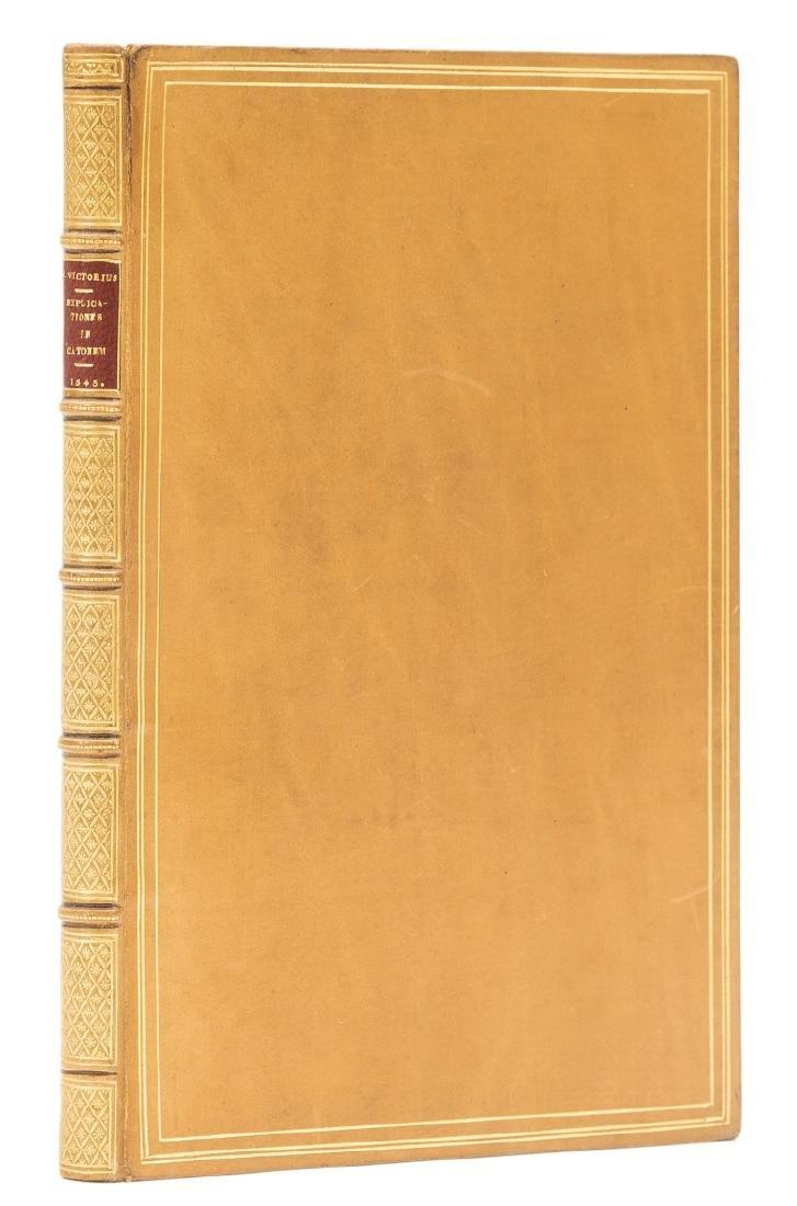 Victorius (Petrus) Explicationes suarum in Catonem,