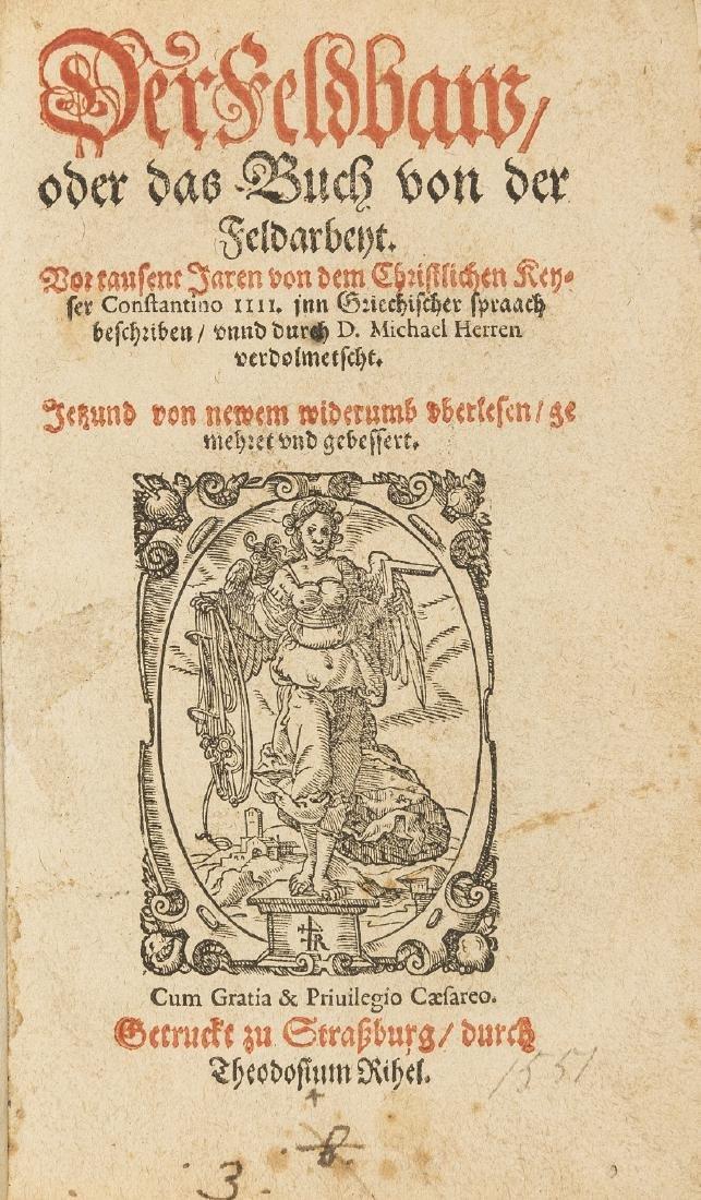 Rabus (Ludwig) Der Feldbaw, oder das Buch von der