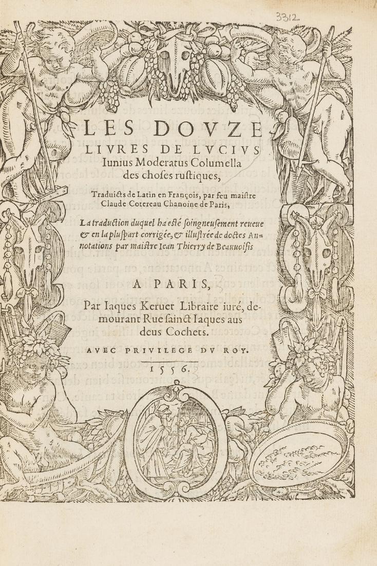 Columella (Lucius Junius Moderatus) Les Douze Livres de