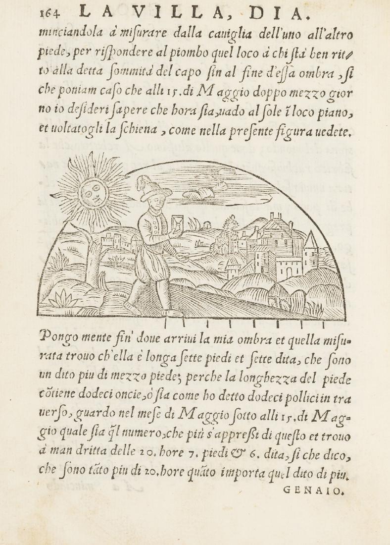 Taegio (Bartolomeo) La Villa. Dialogo, first and only